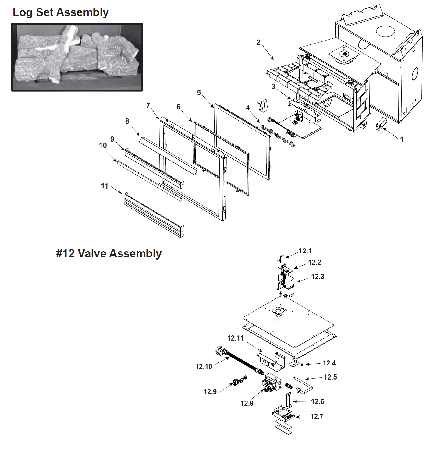 Heat N Glo 6000BE-IPI Parts - Free shipping on orders over $49 Gas Valve Wiring Diagram Ipi on