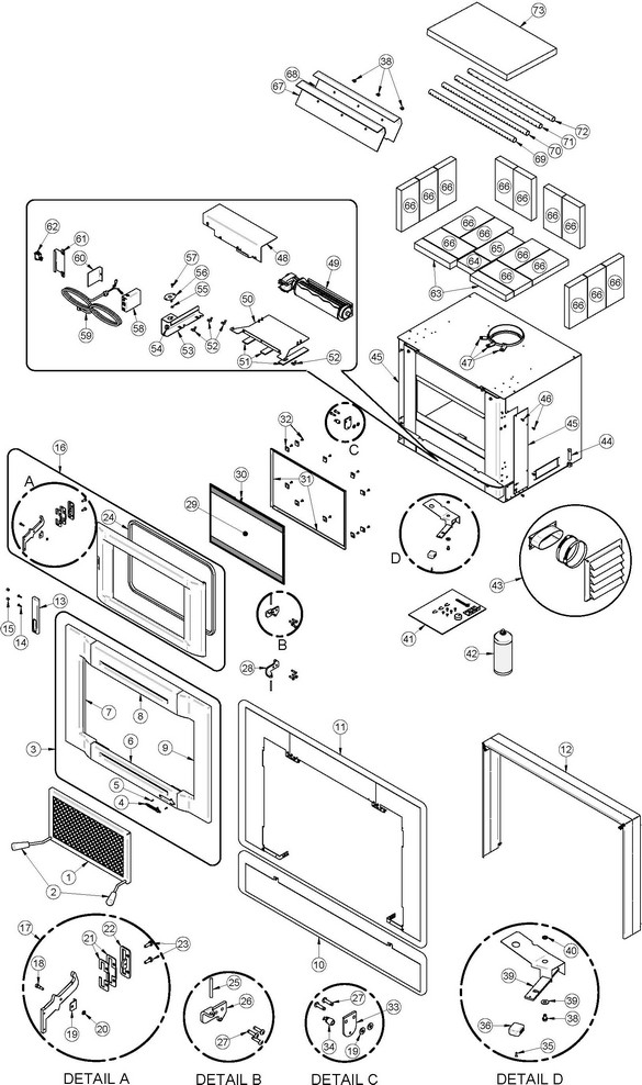 Freedom also Harman Stove Distribution Blower furthermore Defiant Iii Parlor Stove Parts Diagram also Destination 2 3 I Parts Diagram furthermore 2181 Catalytic Fa224ccl Parts Diagram. on us stove replacement blowers