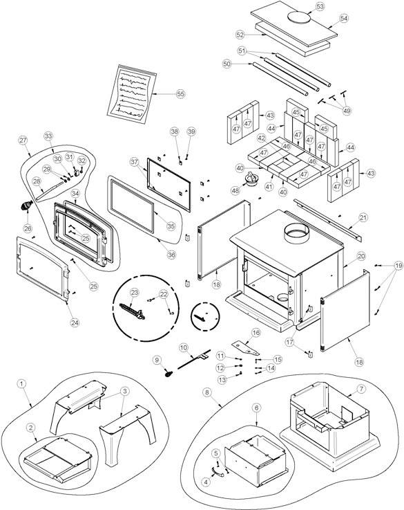 Stove  pany 6039 Corn Pellet Multifuel Stove Parts C 199224 199228 289954 further 559495 Gibson Nordyne Gr4ga Blower Motor Not Working Limit in addition Pellet Stove Parts Unlimited besides Quadra Fire Exhaust Blower P 23866 further Dimplex Fireplace Wiring Diagram. on pellet stove blower motor