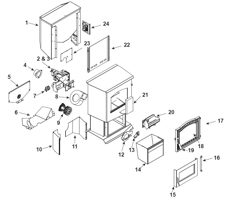 harman p38 parts free shipping on orders over $49 Laundry Parts Diagram harman p38 pellet